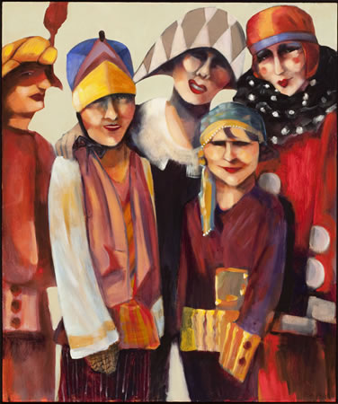 A work by Sandra Jones Campbell is included in the City Hall exhibit.