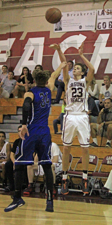 laguna beach high school basketball Junior Isaac Wulff is Laguna's number two scorer with a 15.5 average.