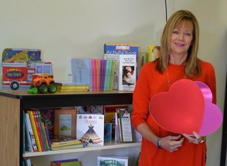 Julie Olsen seeks gently used children's books.