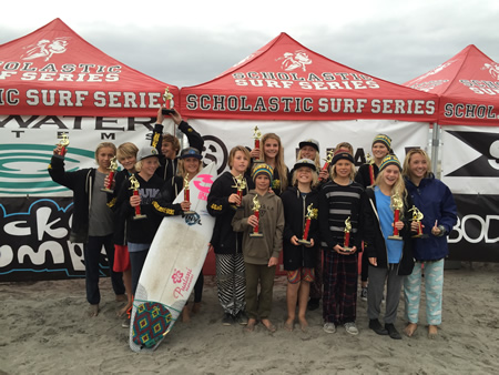 Thurston's surf team picks up new hardware.