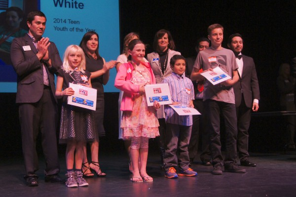 The Boys and Girls Club acknowledges its standout members at a ceremony last month.