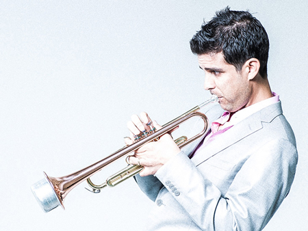 Trumpeter Gabriel Johnson
