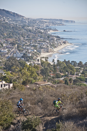 Mountain bikers are now as commonplace in the wilderness park as native habitatPhoto courtesy of Freeman Images