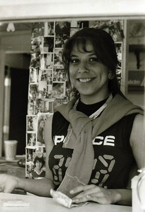 "Current owner Alizabeth ""Alisa"" Arciniaga worked at the stand as a teenager.  Photo by Doug Miller"