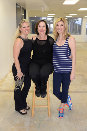 Heidi Miller, Marilyn Brumley and Kelly Emmes.