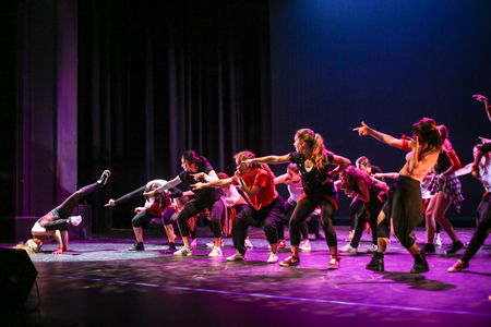 A sample from the student dance concert program. Photo by Jody Tiongco.