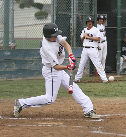 Dante Faicchio went 1-3 with an RBI against Saddleback on Friday, April 24 at home.