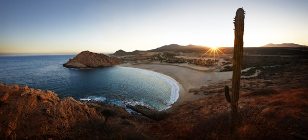 Santa Maria Bay in Los Cabos, Mexico, site of the newest Montage resort.