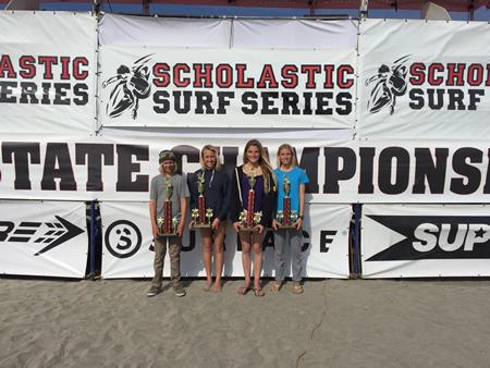 From left, Trey Lockhart, Kelly Smith, Liv Stokes and Lola Fisher.