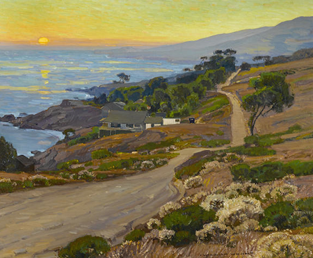 """""""The Old Coast Road"""" by Laguna Beach artist William Wendt recently sold for a record $1.6 million."""