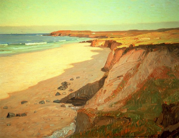 """Crystal Cove,"" 1912, by William Wendt, The Joan Irvine Smith Collection."
