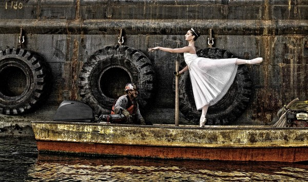 Park of Rob Gage's Ballerina Project features dancers in unique environments.