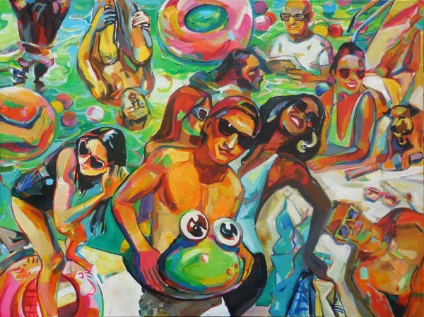"Larissa Gorikh's ""Pool Party"""