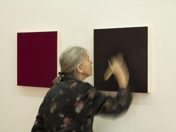 Artist Marcia Hafif