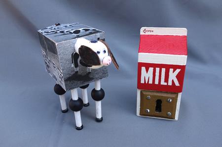 "Scot Moore's ""Milk keyway."""