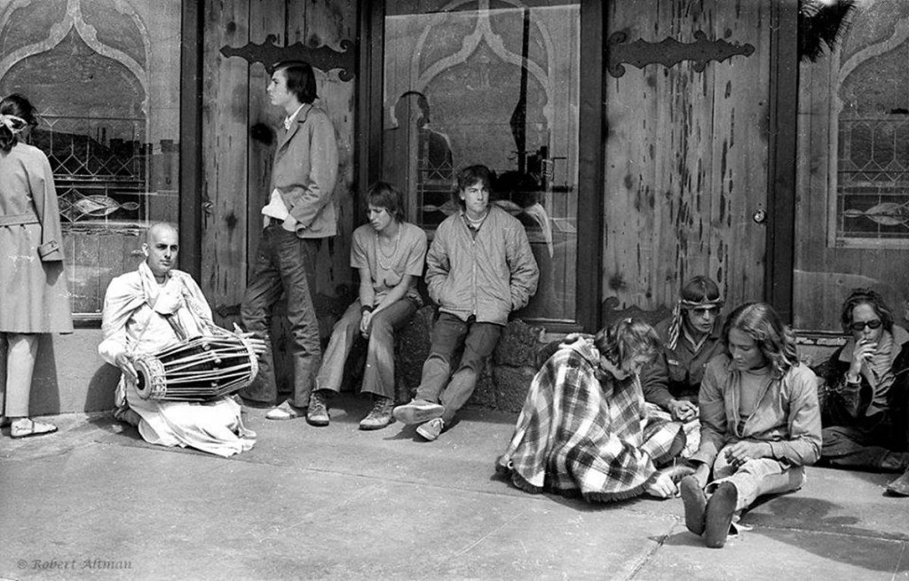The scene at Mystic Arts World on Coast Highway in the 1960s is the subject of a new exhibit.