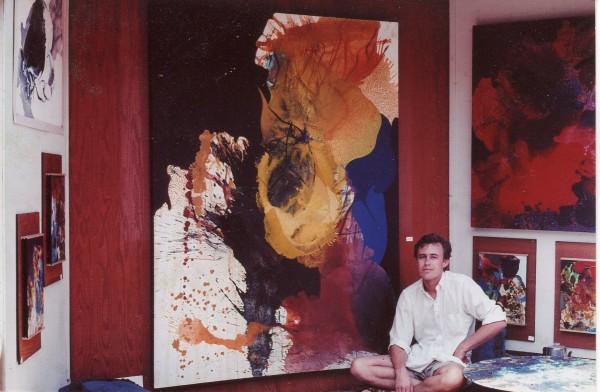 The late Laguna Beach artist Robert Young in an image from an earlier era.