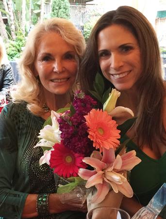 Sandy Vetter, left, with her daughter in law, Elissa Profant.