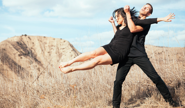 Entity Contemporary Dance Company adds a different artistic medium to the mix at the Festival of Arts on Saturday.