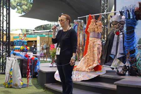 : Festival of Arts special events coordinator Susan Davis hosts Art Talks at noon  Thursday, Aug. 20, who will be joined by artists that competed in the weekend show.