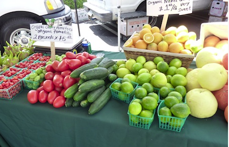 Fallbrook-based Pedro's Ranch offers shoppers good prices on organic citrus, tomatillos, tomatoes and cukes, as well as Haas avocadoes.