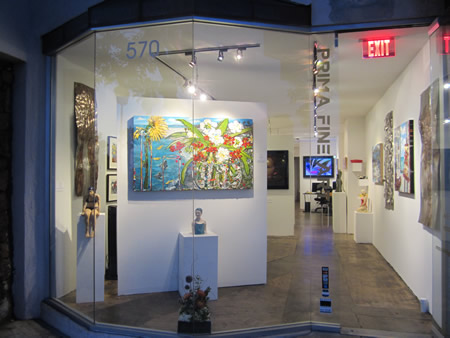 A look inside the town's latest gallery.