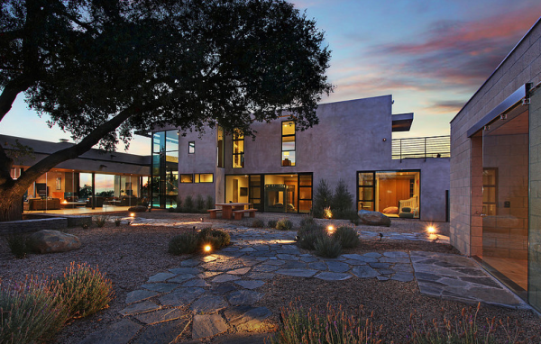 A Mark Singer designed home.