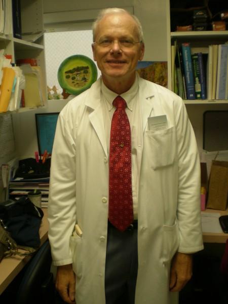 Retired clinic staffer Korey Jorgensen.