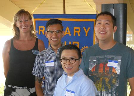 LCAD Rotary scholarship recipients.