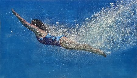 3 art seen Eric Zener_Blue Voyager