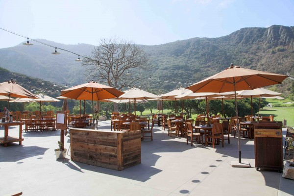 The Ranch patio continues to host events while the hotel and restaurant renovation is completed. Photo by Jody Tiongco