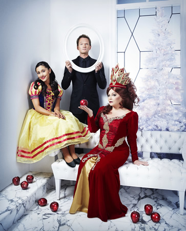 """A scene from """"A Snow White Christmas,"""" opening Thursday, Dec. 3."""