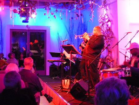 Bijon Watson leads off  the winter series with the Latin Jazz Syndicate.
