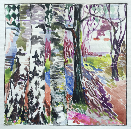 A work by Sarah Walsh is offered at the Rawsalt under $500 exhibition.