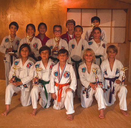 Students of Cho's Academy recently demonstrated their skills at a competition.