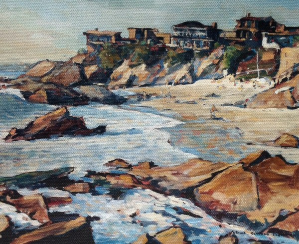 "Tobin's ""Woods Cove,"" from the collection of Betty Carle."