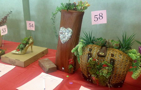 Examples of Valentine gifts offered by the Garden Club.