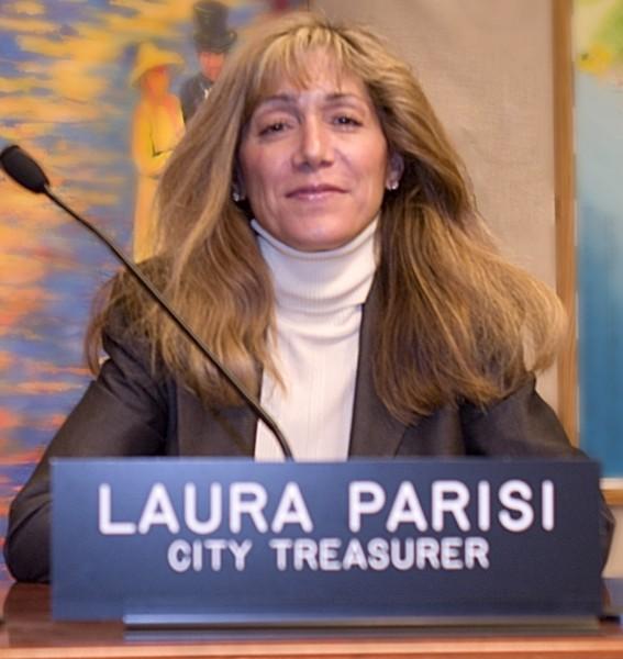 Laura Parisi, the Laguna Beach treasurer