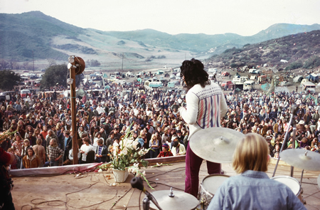 Laguna's version of Woodstock is known as the Christmas Happening.Photo courtesy of Mark Chamberlain.