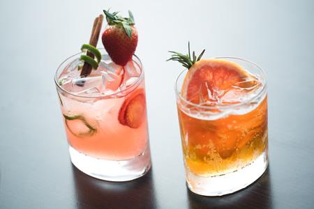 Suggested brunch cocktails at Splashes.