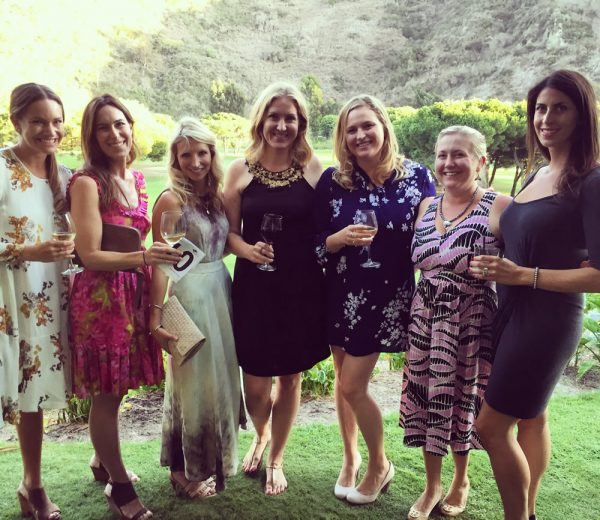 Organizers of Laguna NextGen attend a Marine Mammal Center gala, from left, Katrina Puffer, Katie MacGillivray, Cathering Talarico, Lea Abel-Stone, Danielle Ward-Schuster, Meghan MacGillivray-Weil and Nicole Anderson.