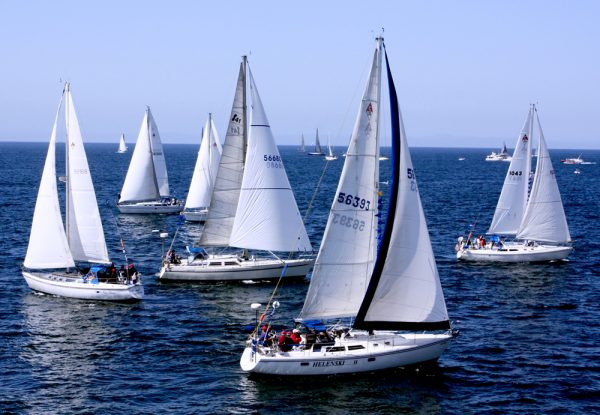 The 69th Annual Newport to Ensenada Race casts off Friday, April 22, at 11 a.m. off the Balboa Pier. Check the horizon for the regatta, often a mile or more offshore as it passes the Laguna Beach coastline.