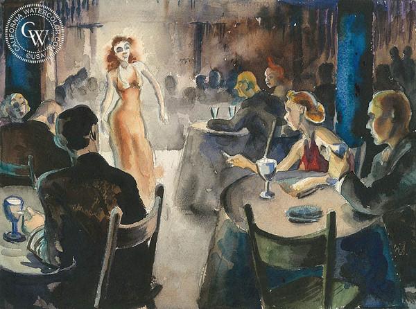 "Retta Scott's ""Speakeasy"" is part of the museum's basement level exhibit on prohibition era Los Angeles."