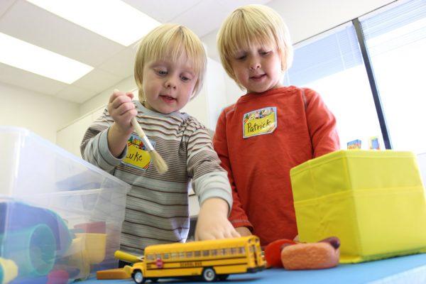 Parent Lenka Stedman says her twins made real progress since enrolling in Learning Link.