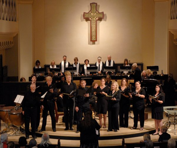 A choir will join in the church concerts planned this month.