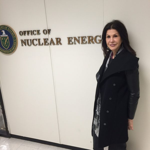 Laguna Beach resident and Secure Nuclear Waste Coalition organizer Rita Conn took her concerns to the Department of Energy in Washington, D.C.