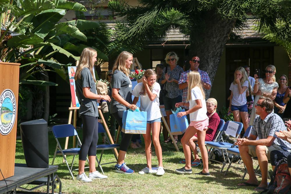 laguna beach local news sisters ready for an olympic splash laguna