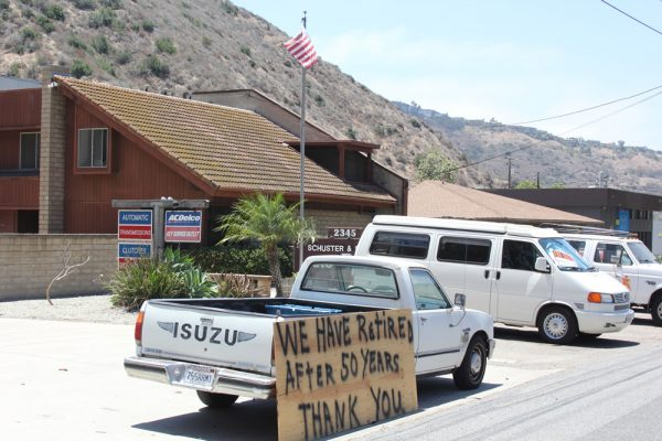 The Schuster brothers last week let their customers know their intentions.
