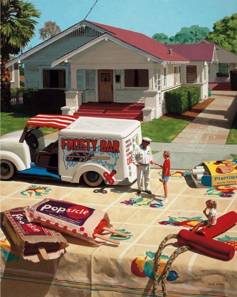 "Scott Moore's ""Ice Cream Man."""