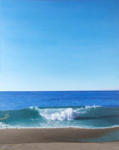 Kurt Weismair's view of the sea.